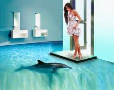 Awesome D Flooring Art And D Bathroom Floor Murals  Pinteres - Bathroom flooring designs