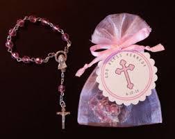 rosary favors for baptism 30 mini rosary favors baby boy baptism favors christening