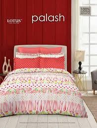 lotus bedsheet lotus brand double bed 200tc cotton bed sheet