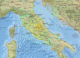 Map Of Central Italy by Earthquake Aftermath In Italy Sector