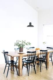 Black And White Striped Dining Chair Black White Dining Chairs Black Dining Chairs With Rustic Wood