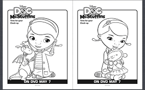 doc mcstuffins coloring pages print laura williams