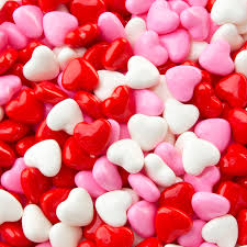 valentines heart candy hearts pressed candy 2 lb bag unwrapped candy bulk