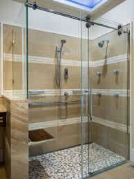 rolling shower door houzz
