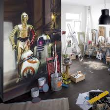 star wars droides the force awakens wall mural great home star wars droides the force awakens wall mural