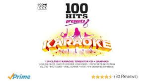 black friday tracklist amazon 100 hits karaoke amazon co uk music