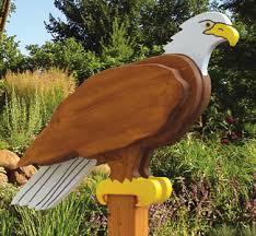 3d bird woodcraft patterns eagle sentry wood plan