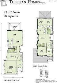narrow home floor plans baby nursery floor plans for narrow blocks storey narrow