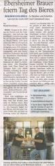 Allgemeine Zeitung Bad Kreuznach Pressespiegel Rheinhessen Bräu U2013 Brauerei In Mainz Ebersheim