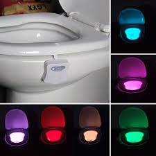 aliexpress com buy new sensor toilet light 8 colors led battery