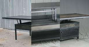combine 9 industrial furniture u2013 the versatile lift top coffee