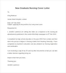 graduate nursing cover letter new graduate nurse cover letter