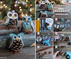 creative ideas diy owl decoration from recycled lids