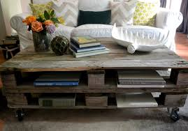 Living Room Pallet Table The Poor Sophisticate Pallet Coffee Table Tutorial