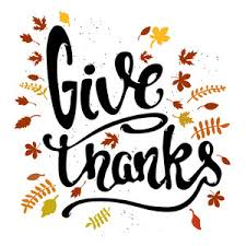 vector thanksgiving illustration with leaves royalty free stock