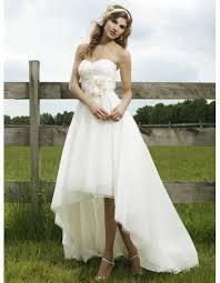 hem wedding dress modest a line high low hem wedding dresses unique