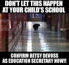 Meme Education - don t let this happen at your child s school betsy devos