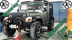 jeep india how to get mahindra thar jeep modified in india best offroading