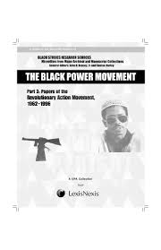 maxwell stanford the ram 1962 1969 and the black power movement u2026