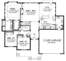 ranch home floor plan open concept ranch home plans 23 open floor plans with loft