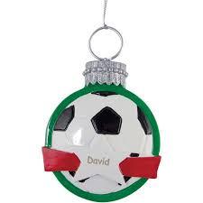 personalized soccer ornament walmart