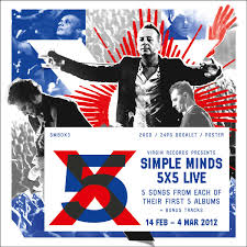 5 x 5 photo album 5x5 live 2012 simpleminds