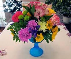 The Blue Vase Flowers