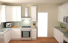 Classic White Kitchen Designs Budget Friendly Classic White Kitchen Remodel Before Pictures And