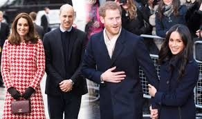 meghan harry why meghan markle and harry hold hands but kate middleton and