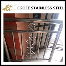 304 316 gate ornaments cumbi stainless steel window grill design