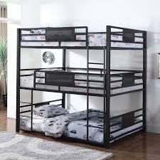 Northcoast Factory Direct by Coaster Bunks 460394f Full Triple Bunk Northeast Factory Direct