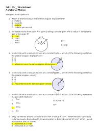 rotational motion worksheet acceleration velocity