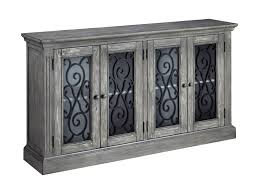 accent cabinet with glass doors signature design by ashley mirimyn t505 962 door accent cabinet in
