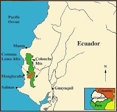 san jose ecuador map chongón colonche mountains of ecuador mirador san jose ecuador