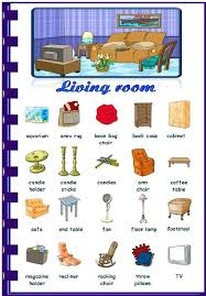 Living Room Furniture Names Living Room Furniture Names Vocabulary In The House On Home