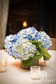 hydrangea centerpiece blue hydrangea centerpiece wedding newsday