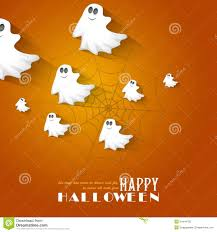 happy halloween background happy halloween set ghost bat spider eyes martini card