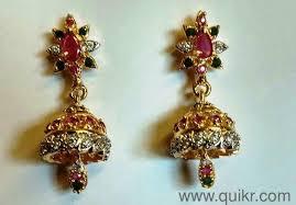 earrings for sale earrings for sale brand jewellery konnagar quikrgoods