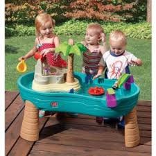 step2 spill splash seaway water table step2 spill splash seaway water table includes umbrella for shade