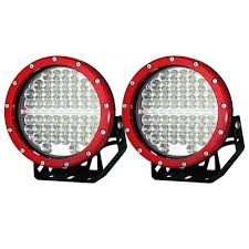 round led driving lights pair 7inch 590w cree round led driving lights work spotlights 12v
