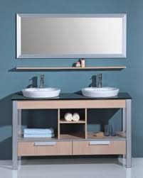 Bathroom Vanity With Shelves The Open Shelving Bathroom Vanity A Trend