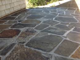 Sealing A Flagstone Patio by Refinishing Slate Tile Floors And Deep Cleaning California Tile