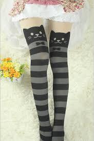 cute stockings cute cat cartoon pantyhose stockings leggings harajuku fashion