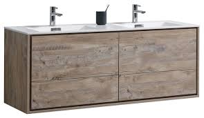 Contemporary Bathroom Cabinets - delusso 60