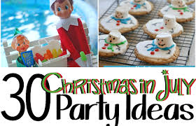 christmas in july 30 christmas in july party ideas