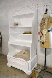 White Shabby Chic Bookcase by Painted Cottage Chic Shabby Romantic French Bookcase Bookshelf