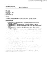 Tongue And Quill Resume Template Firefighter Resume Samples Resume Example Best 25 Firefighter