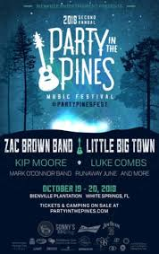 country music concerts ta fl 2013 zac brown band little big town to headline party in the pines