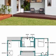 modern cabin floor plans cabin plans modern house plan with open floor small 1 bedroom single