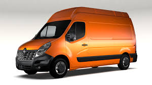 renault van 2017 renault master l2h3 van 2017 3d model vehicles 3d models base 3ds